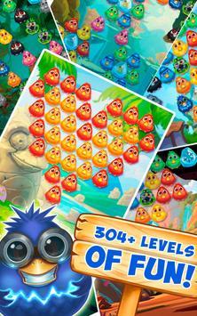 Bubble Birds 4 - Rescue Falling Funny Birds apk screenshot