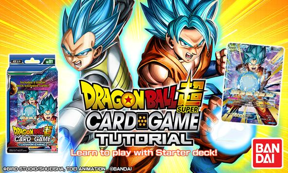 Dragon Ball Super Card Game Tutorial poster