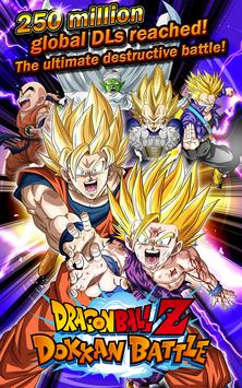 DRAGON BALL Z DOKKAN BATTLE captura de pantalla de la apk