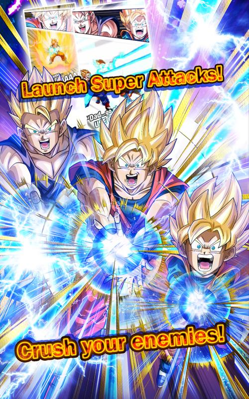 dragon ball z dokkan battle apk screenshot - Dragon Ball Z Com