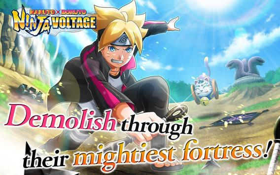 NARUTO X BORUTO NINJA VOLTAGE captura de pantalla 6