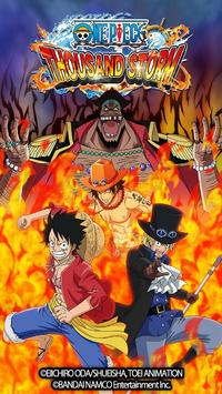 ONE PIECE THOUSAND STORM poster