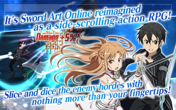 SWORD ART ONLINE:Memory Defrag apk screenshot