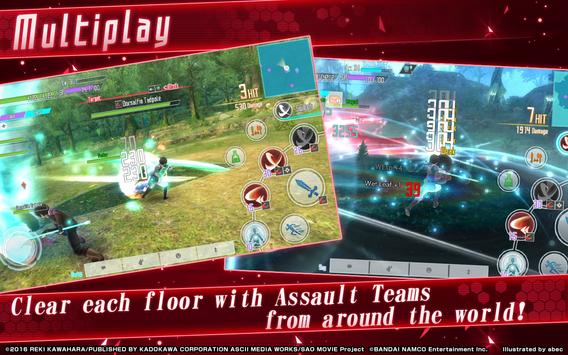 Sword Art Online: Integral Factor screenshot 3