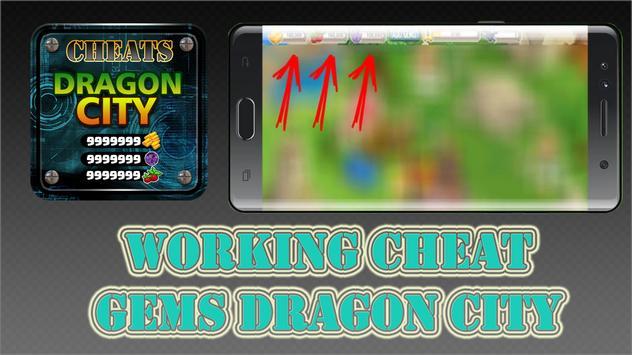 Cheat Free Gems: Dragon City 2017 Prank App Games apk screenshot