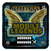 Diamond Cheats For Mobile Legends Game App Prank icon