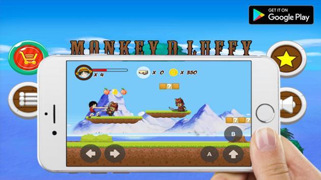 Luffy Adventure apk screenshot
