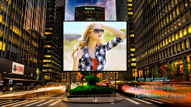 Photo Frame: Billboard Edition apk screenshot