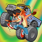 Bandicoot danger climber hill icon