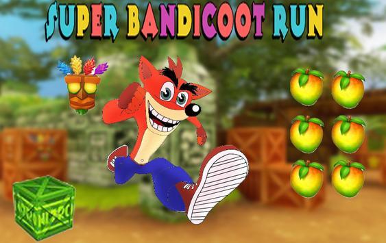 Bandicoot super jungle adventure apk screenshot