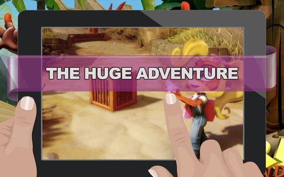 Super Bandicoot - The Huge Adventure poster