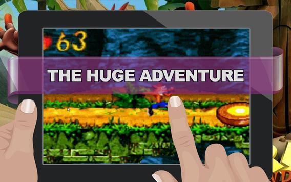Super Bandicoot - The Huge Adventure screenshot 1