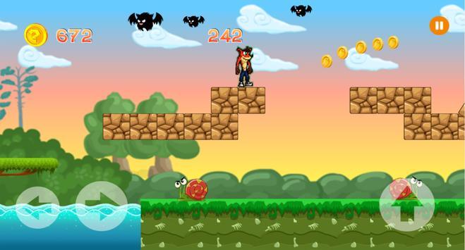 Crash Adventure hero bandicoot apk screenshot