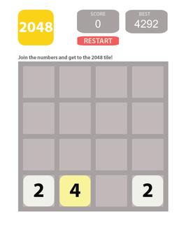 2048 PRO MATH screenshot 1
