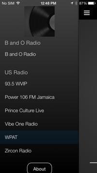 B and O Radio poster