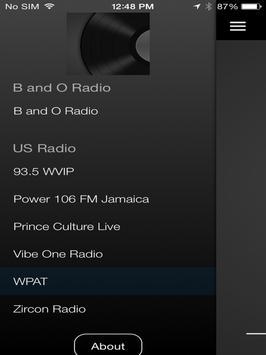 B and O Radio apk screenshot