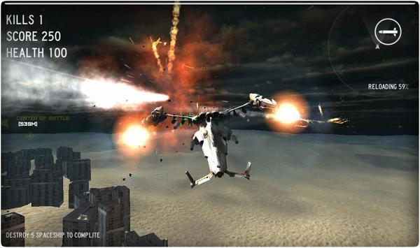 Air Space Combat screenshot 6