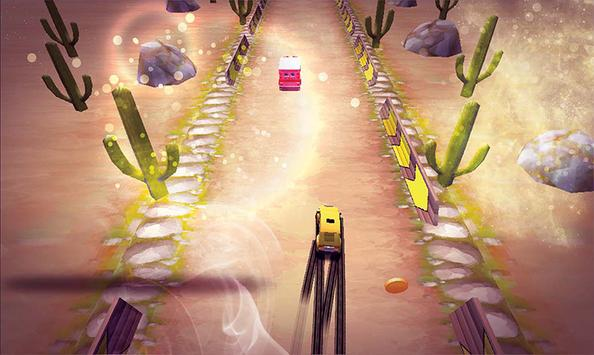 Traffic Driver game Racer free : for kids screenshot 2