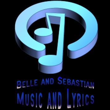 Belle & Sebastian Lyrics Music poster