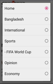 Bengali News screenshot 2