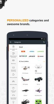 Banggood - New user get  10% OFF  coupon apk screenshot
