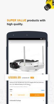 Banggood-Nuevo usuario logra cupón de 10% OFF captura de pantalla de la apk