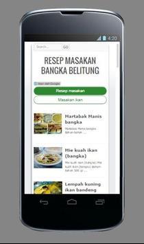 Resep Masakan khas Bangka poster