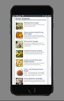 Resep Masakan khas Bangka screenshot 1