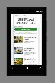 Resep Masakan khas Bangka screenshot 2