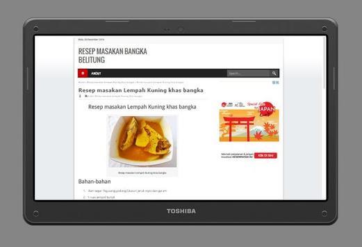 Resep Masakan khas Bangka screenshot 5
