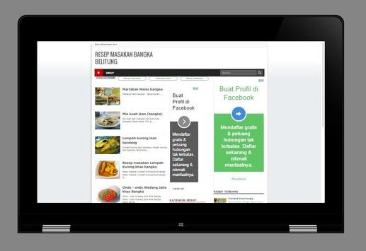 Resep Masakan khas Bangka screenshot 6