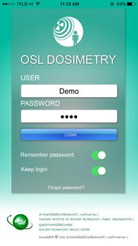 OSL DOSIMETRY screenshot 1