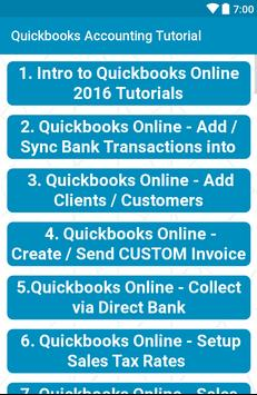 Quickbooks Accounting Tutorial for Android - APK Download