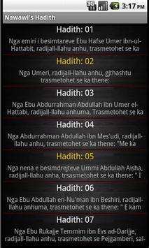 Nawawi's Hadith in Albanian screenshot 1