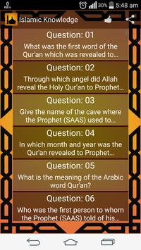 Islamic General Knowledge poster