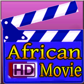 African HD movie icon