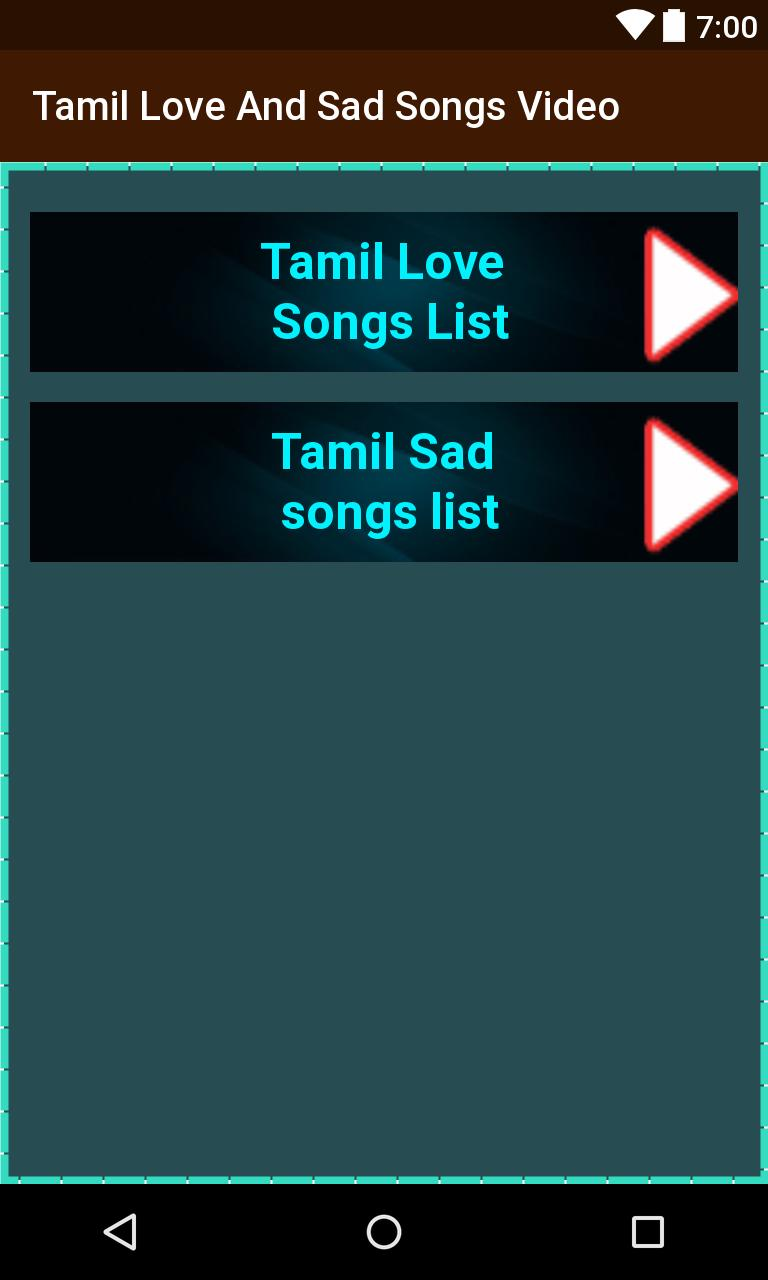 latest love sad songs tamil download
