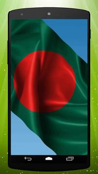 Bangladesh Flag Live Wallpaper poster