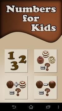 Counting Chocolate for kids poster