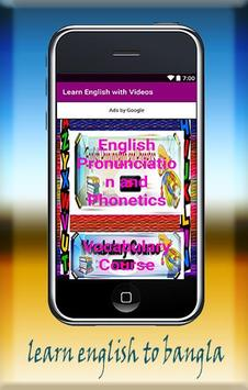 Learn English with Videos poster
