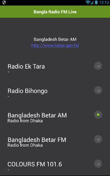 Bangla Radio FM Live poster