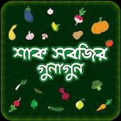 শাক সবজির গুনাগুন ~ Vegetation of vegetables icon