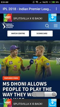 IPL LIVE 2018 screenshot 3