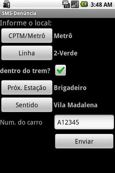 SMS-Denúncia screenshot 2