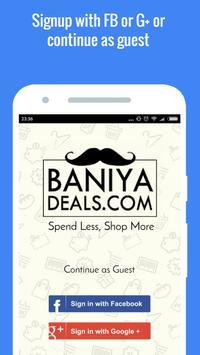 Best Offers Deals Coupon India apk screenshot