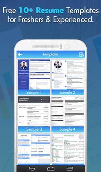 Free Professional CV Maker - Resume Templates screenshot 6