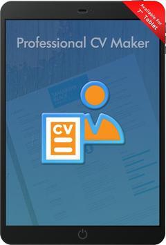 Free Professional CV Maker - Resume Templates screenshot 9