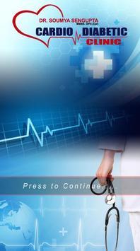 Cardio Diabetic Clinic poster