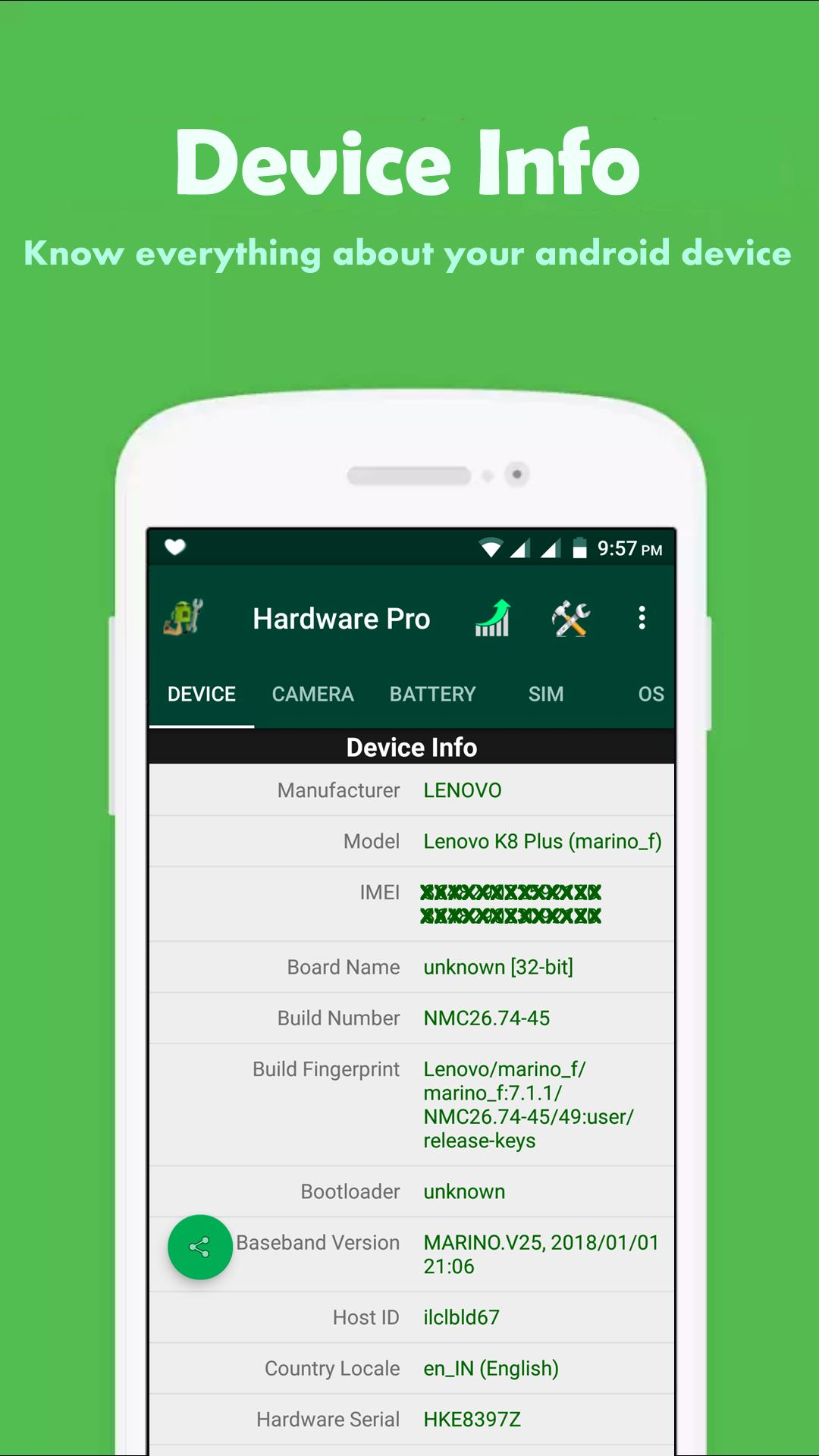 CPU Hardware Pro for Android - APK Download