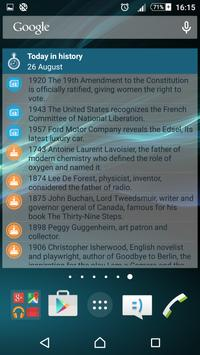 Today in history apk screenshot